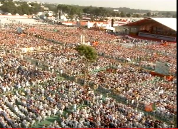 Live : PM Modi to address Page Pramukh Sammelan & concluding function of Gaurav Yatra