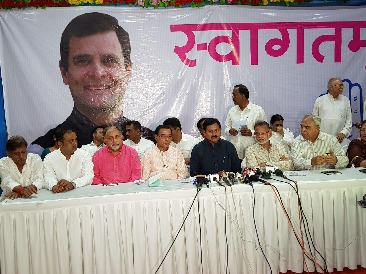 Rahul Gandhi on three day visit to central Gujarat