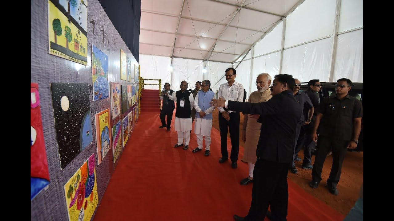 Ground breaking ceremony of Bhadbhut Barage by PM Modi