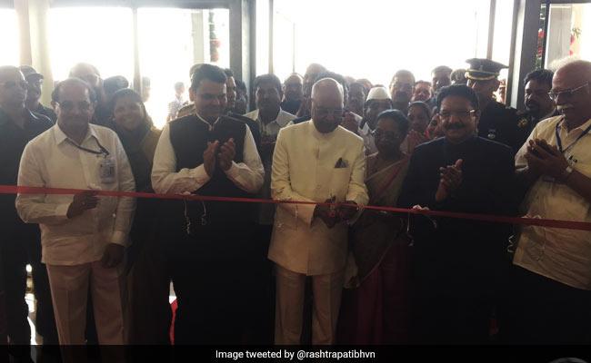 President inaugurates Shirdi Airport, first flight to Mumbai