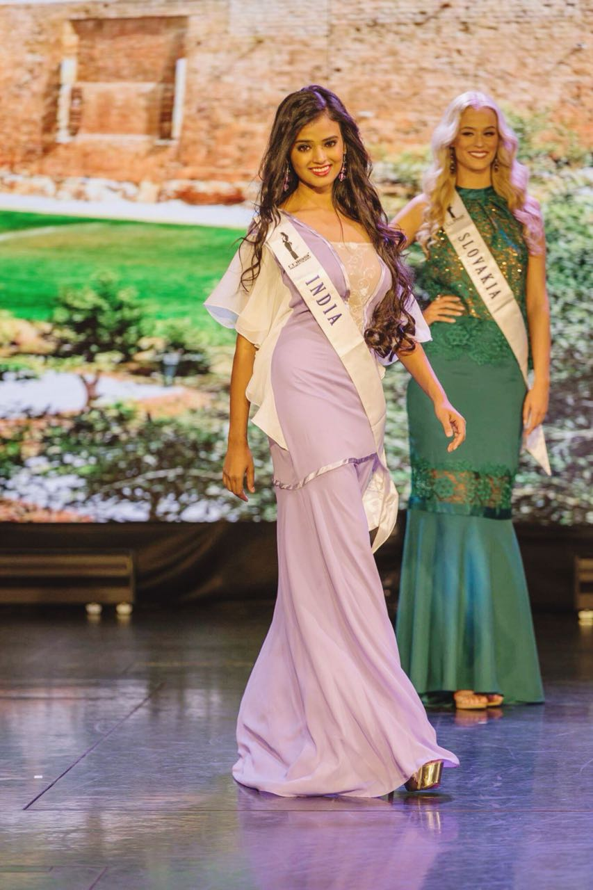 Baroda girl eyeing bollywood after placed 3rd runners up in International beauty pageant