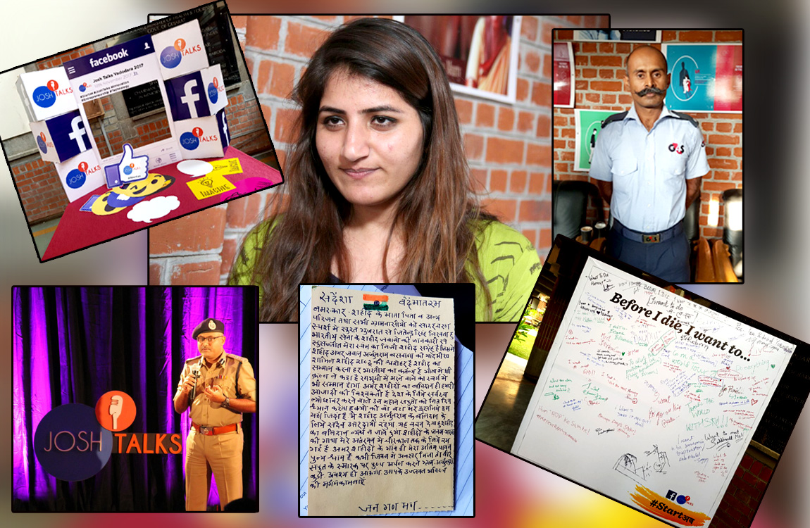 Vadodara was filled with Josh through inspiring Talks & Uncommon Stories of common people