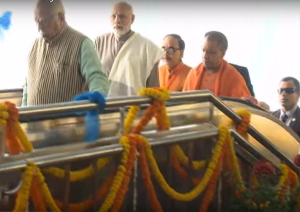 Live : PM Modi inaugurates DMRC Magenta Line Metro Train at Botanical Garden