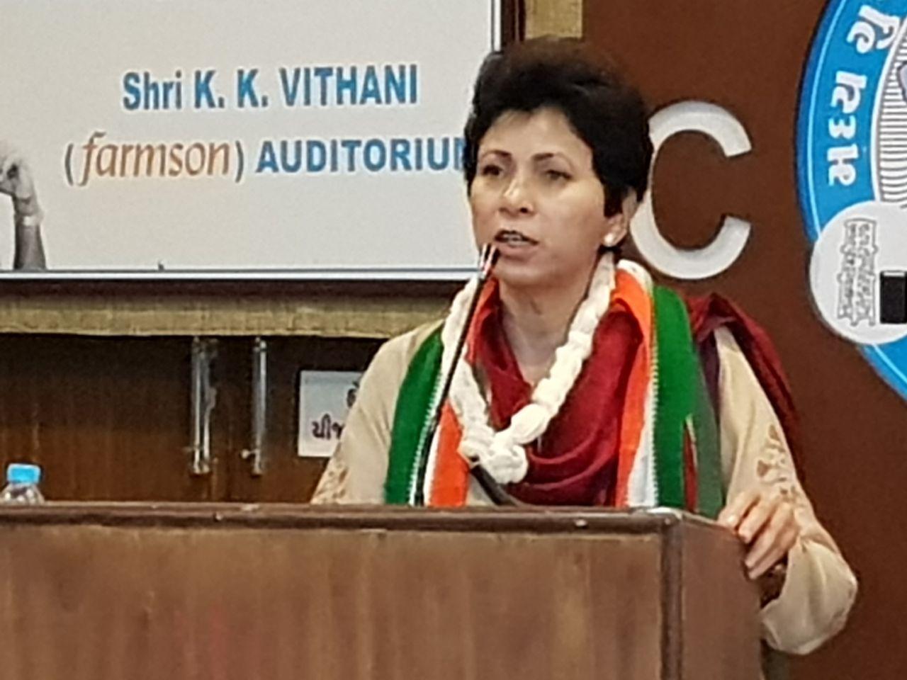 AICC women wing attack BJP on Gujarat model