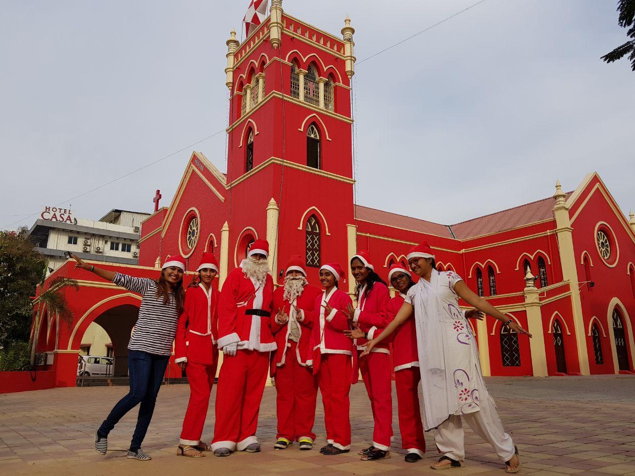 Vadodara is ready for Santa Parade on 23rd December