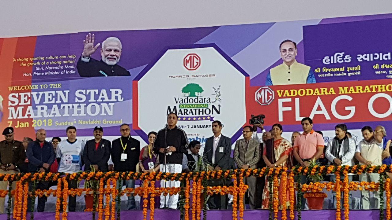 Vadodara runs in the 7th edition of International Marathon