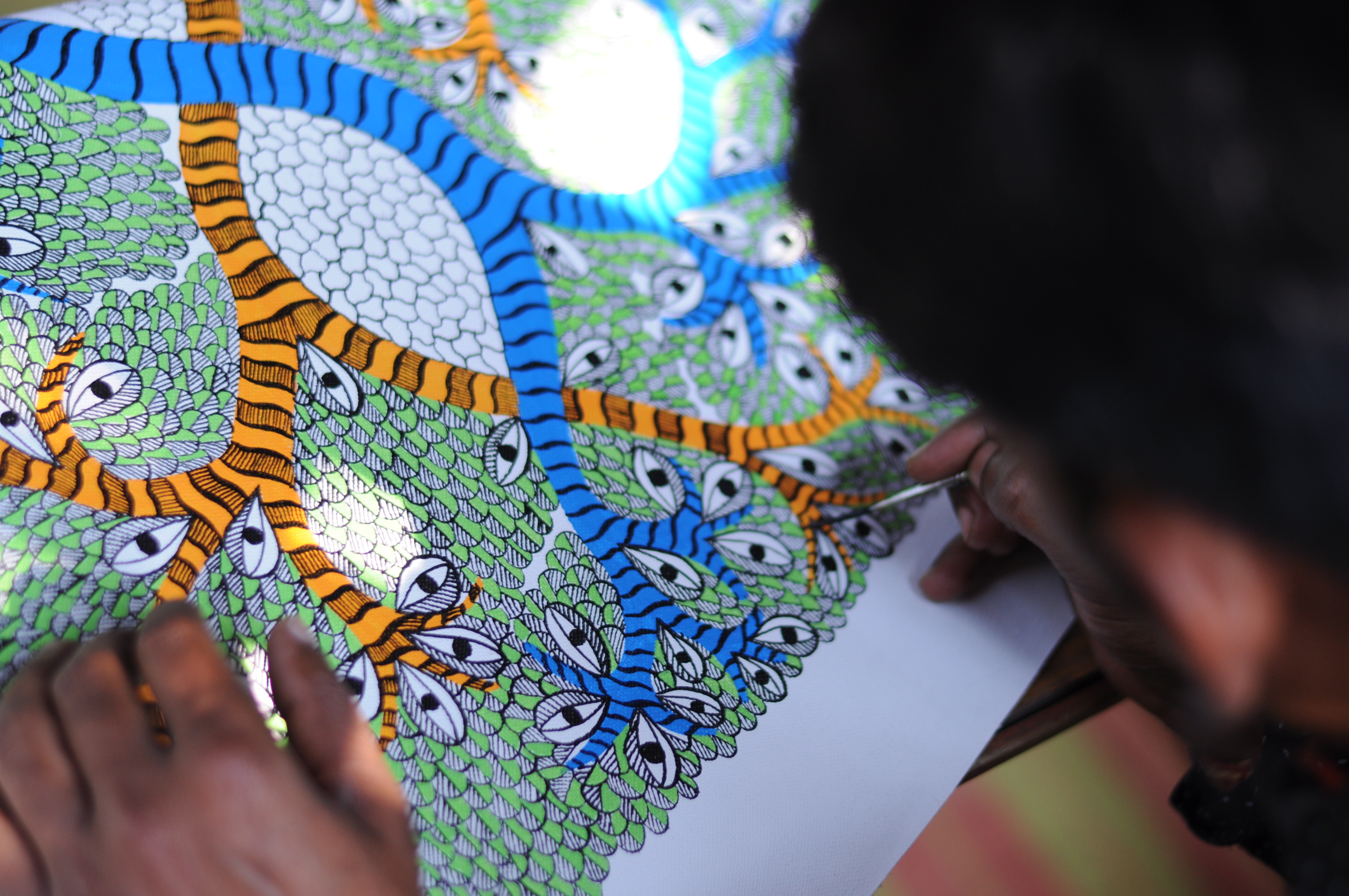 Tribal Arts and crafts of eight states on display at MSU Fine Arts