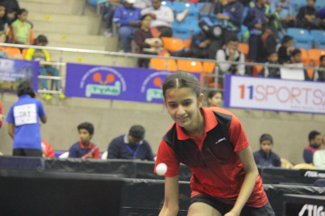 Filzahfatema Kadri rank 10 in Sub- Junior Girls