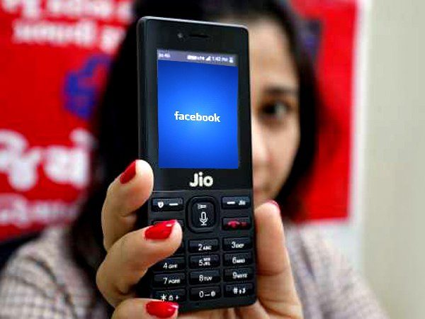 Facebook now available on Jio phone