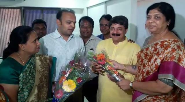 MLA Rajendra Trivedi declared as candidate for next speaker