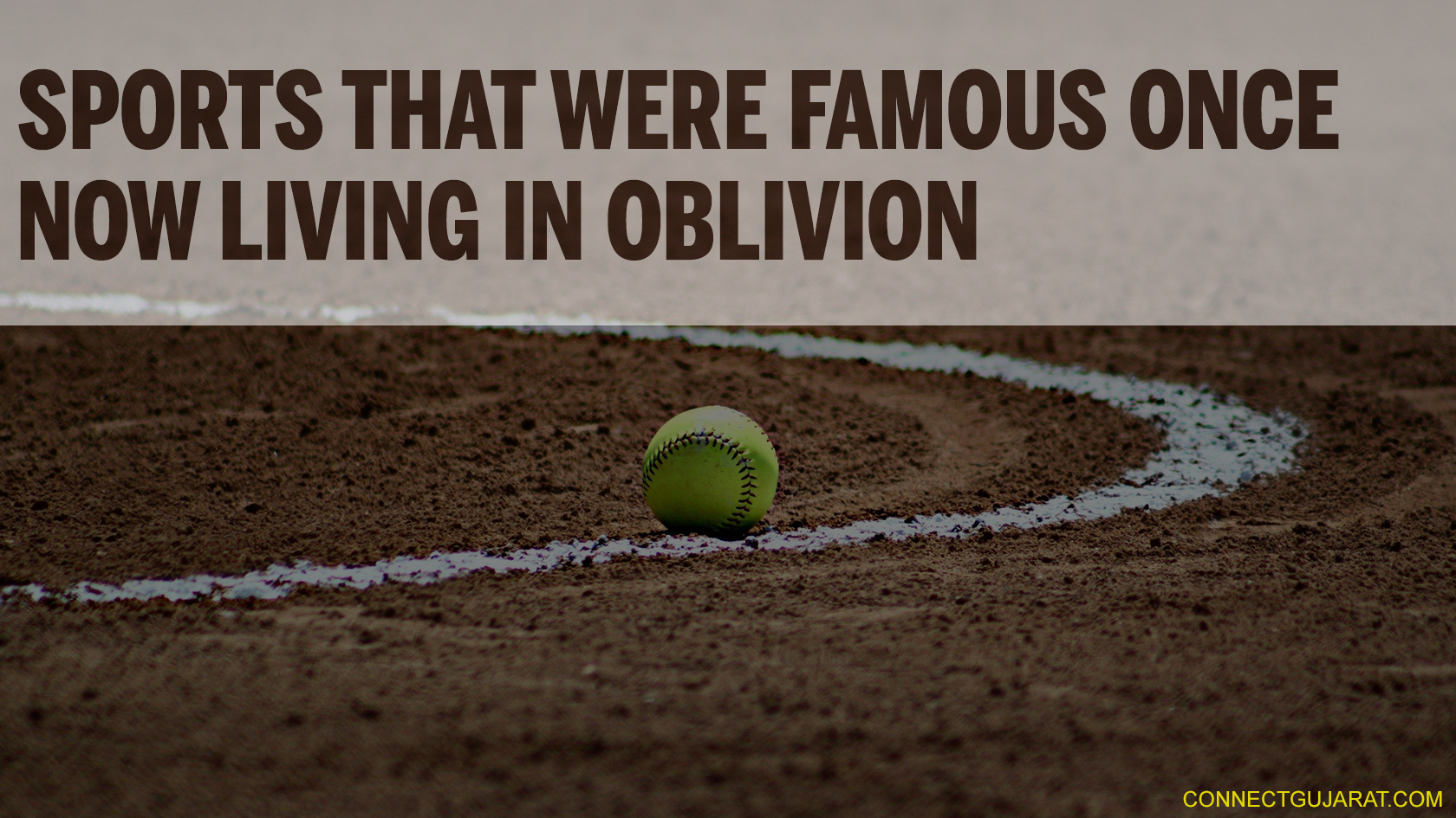 Sports That Were Famous Once Now Living in Oblivion
