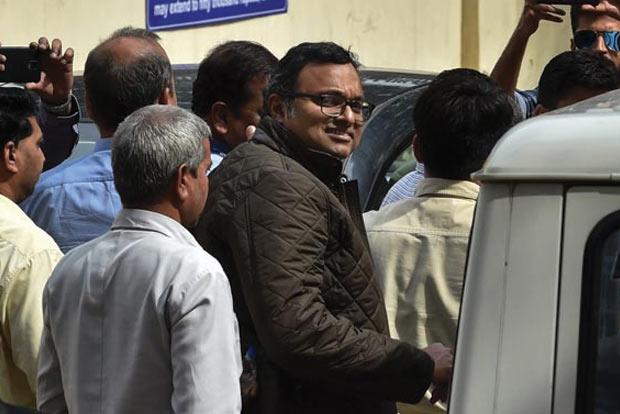 Karti taken to Mumbai for questioning in INX media case