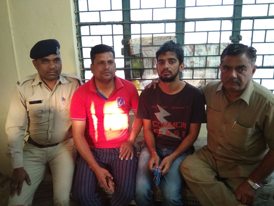Missing MBBS student found from MP