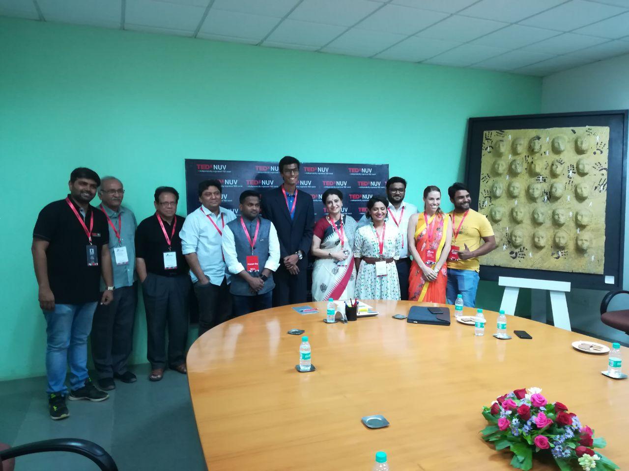 TEDxNUV at Navrachana University