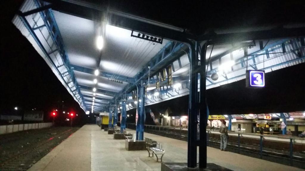 LED lighting at Wankaner