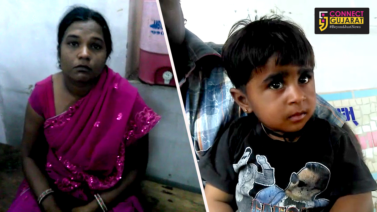 Police arrested a woman tried to steal a child pretending to give polio drops