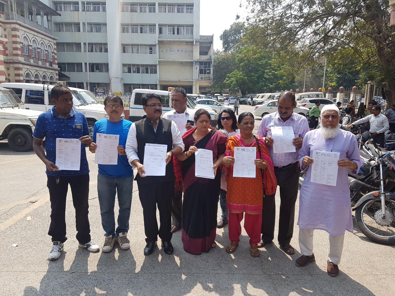 Jago Vadodara demand CBI inquiry in PM Mukhya Mantri Awas Yojna