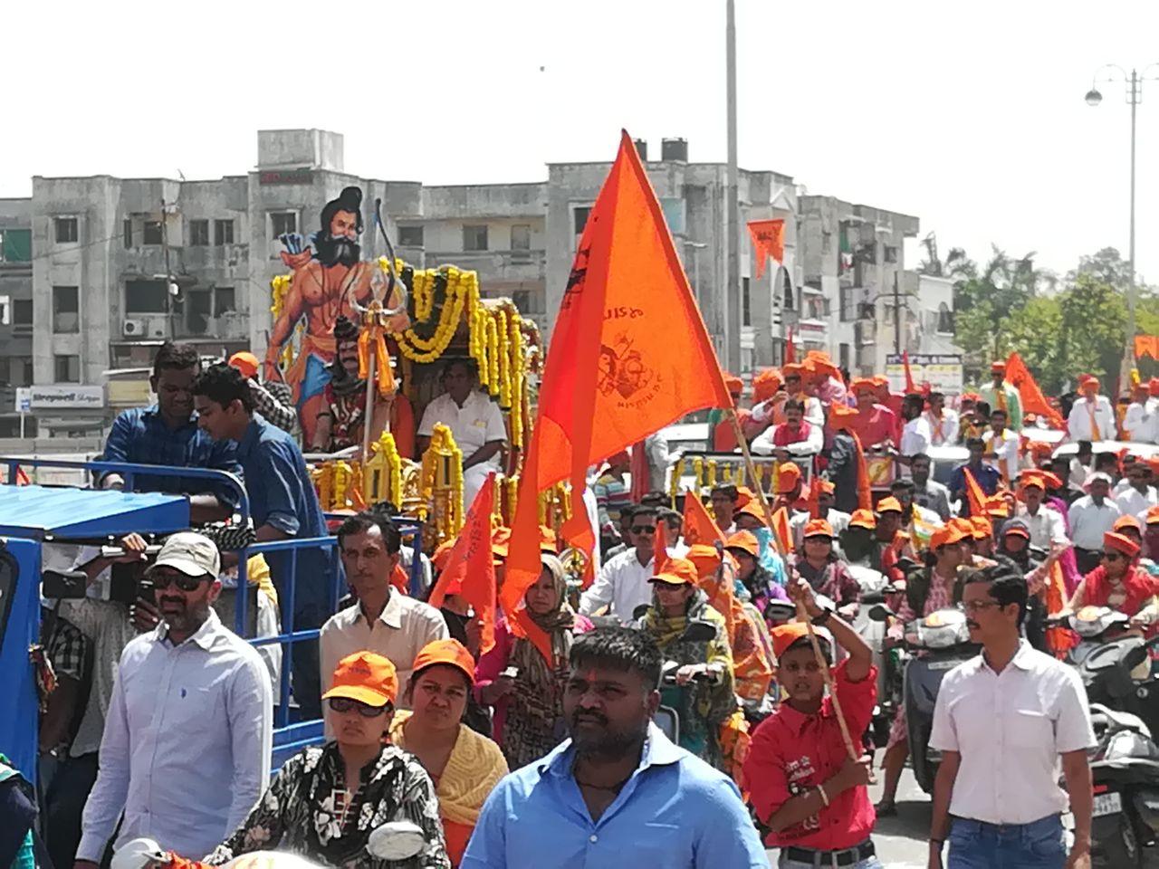 Big procession on the occasion of Parshuram Jayanti in Vadodara