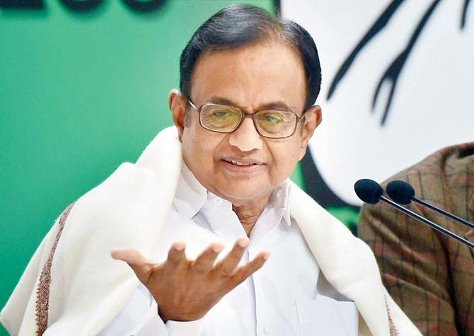 Chidambaram attacks government on fuel prices