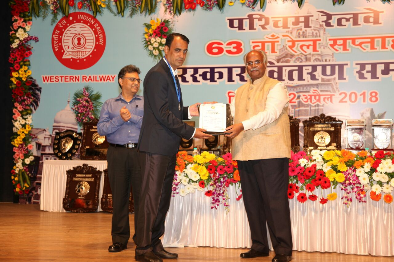 WR'S 63rd Railway week award function held