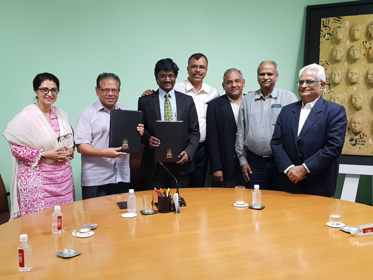 Navrachana University collaboration with IBM to offer specialized courses to students