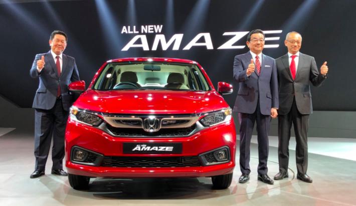 Honda Cars India launches All-New 2nd Generation Honda Amaze in India