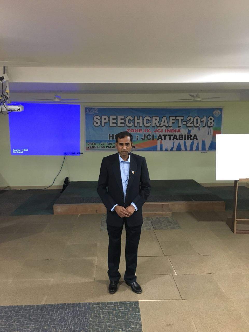 Speech craft trainer from Bharuch trains 30 young entreprenuers in Odisha