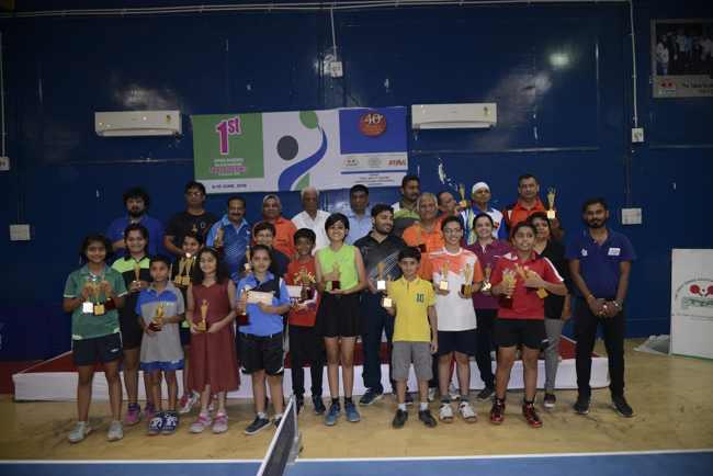 Jalay Mehta won the Men's Singles and Purva Nimbalkar won the Women's Singles Title