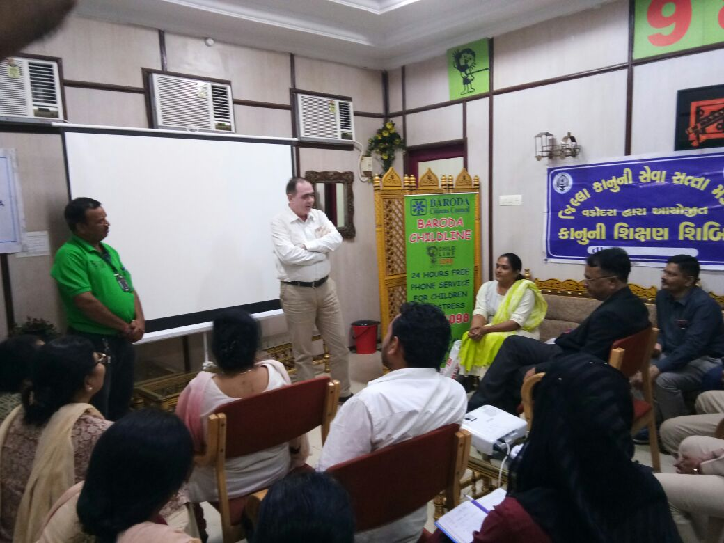 BCC organised training programme for railway police officials coolies and stall vendors
