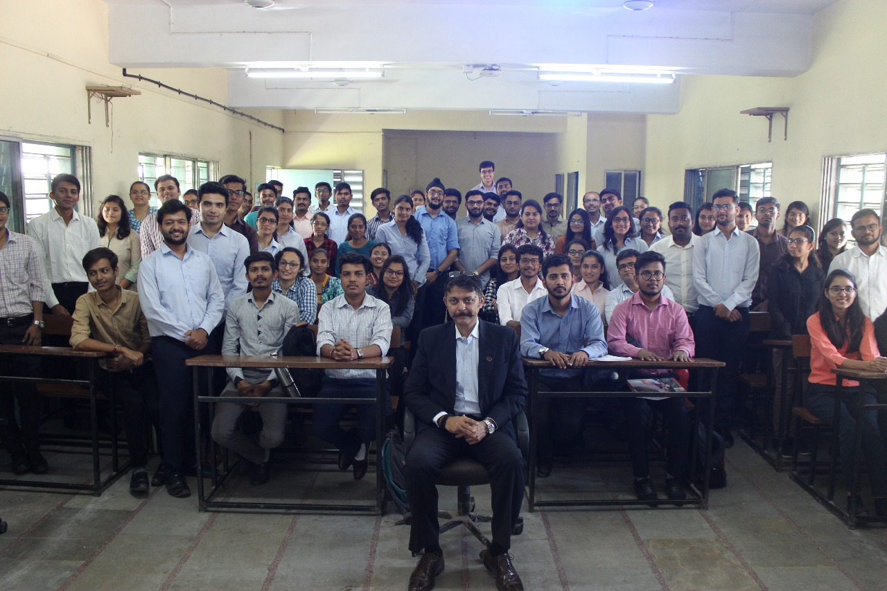 Guest Lecture by Major Mayank Mathur on 2nd anniversary of the surgical strike