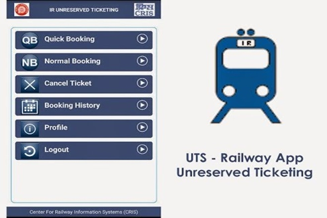 On Line UTS app to be Introduce on non Suburban Stations from 17th Sep 2018