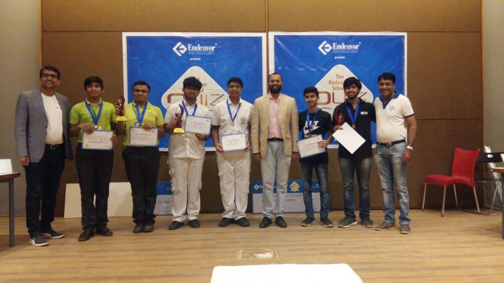 3rd Edition of The Endeavor School Quiz held in Ahmedabad