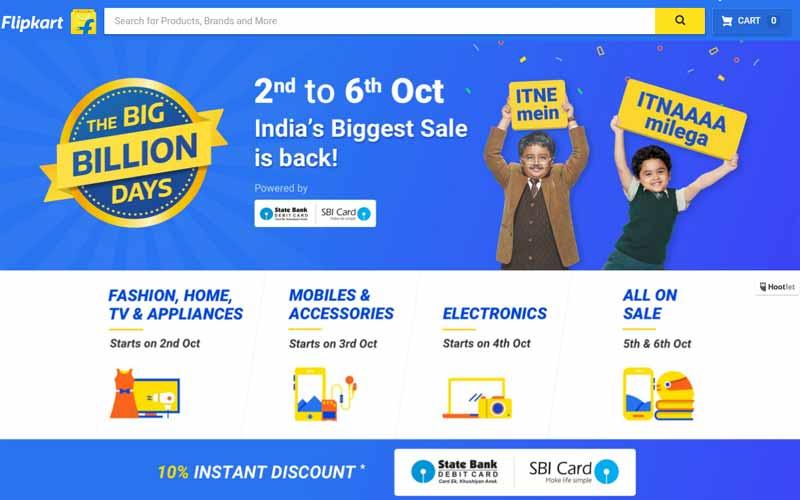 Flipkart is back with Big Diwali Sale
