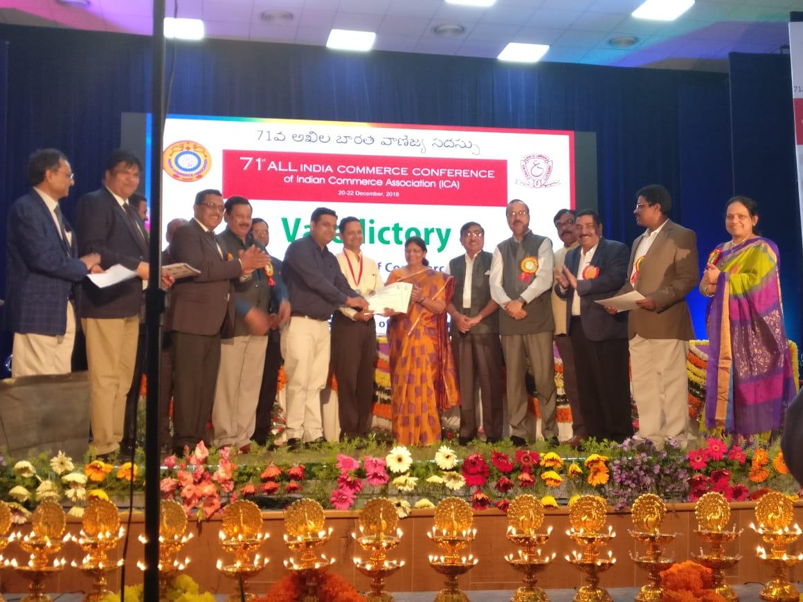 MSU Baroda awarded with BBAY award