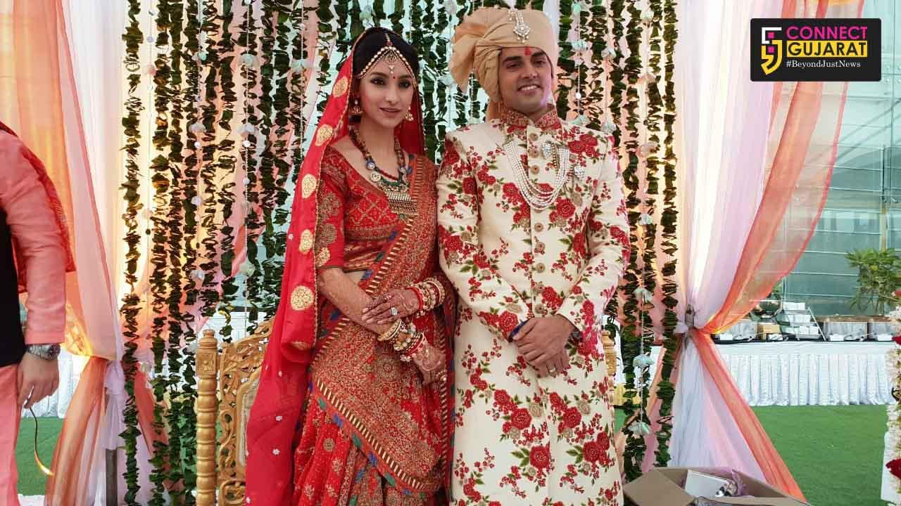Vadodara girl and former Miss India Earth Tanvi Vyas tie the knot with actor Harsh Nagar