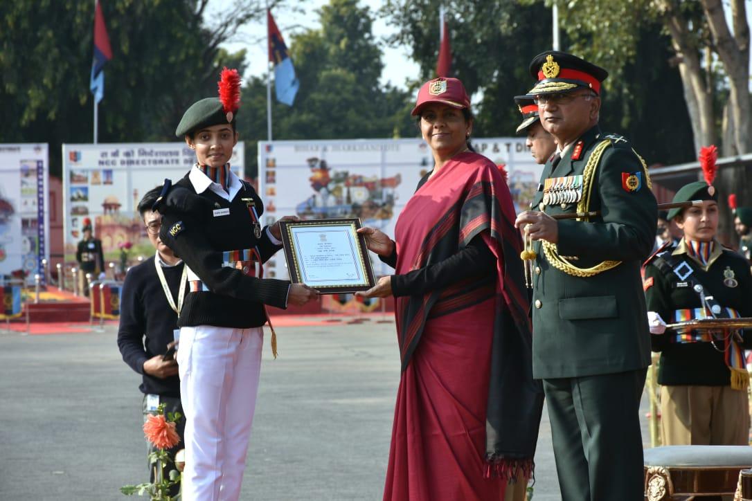 Ex NCC cadet from Vadodara awarded Raksha Mantri Padak in Delhi