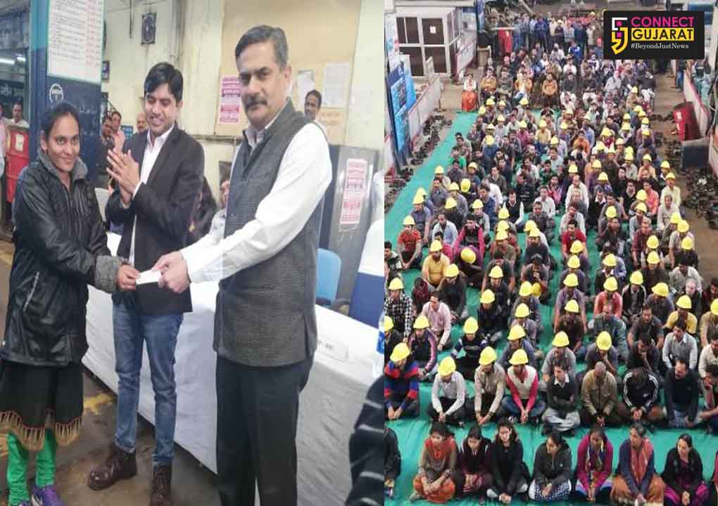 Vadodara Division organized Safety seminar and staff grievance camp