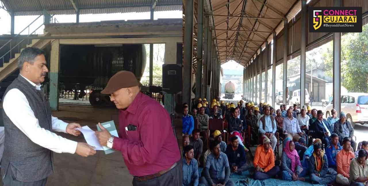 Railway Safety seminar and staff grievince camp at Vadodara