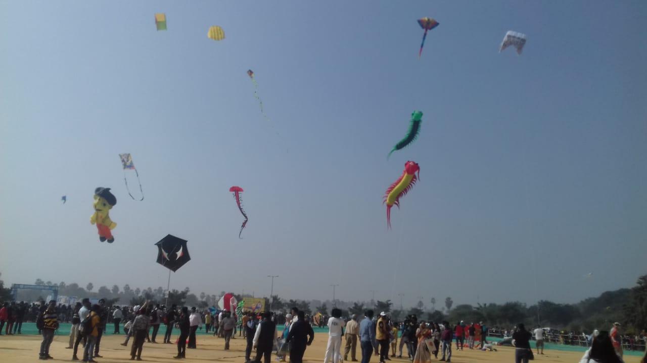 International Kite festival starts in Vadodara
