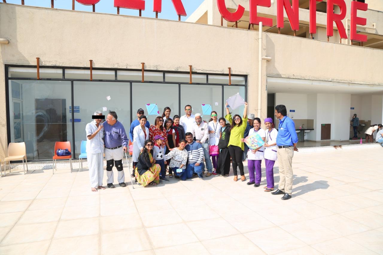 HCG celebrate Uttarayan to inspire new hope