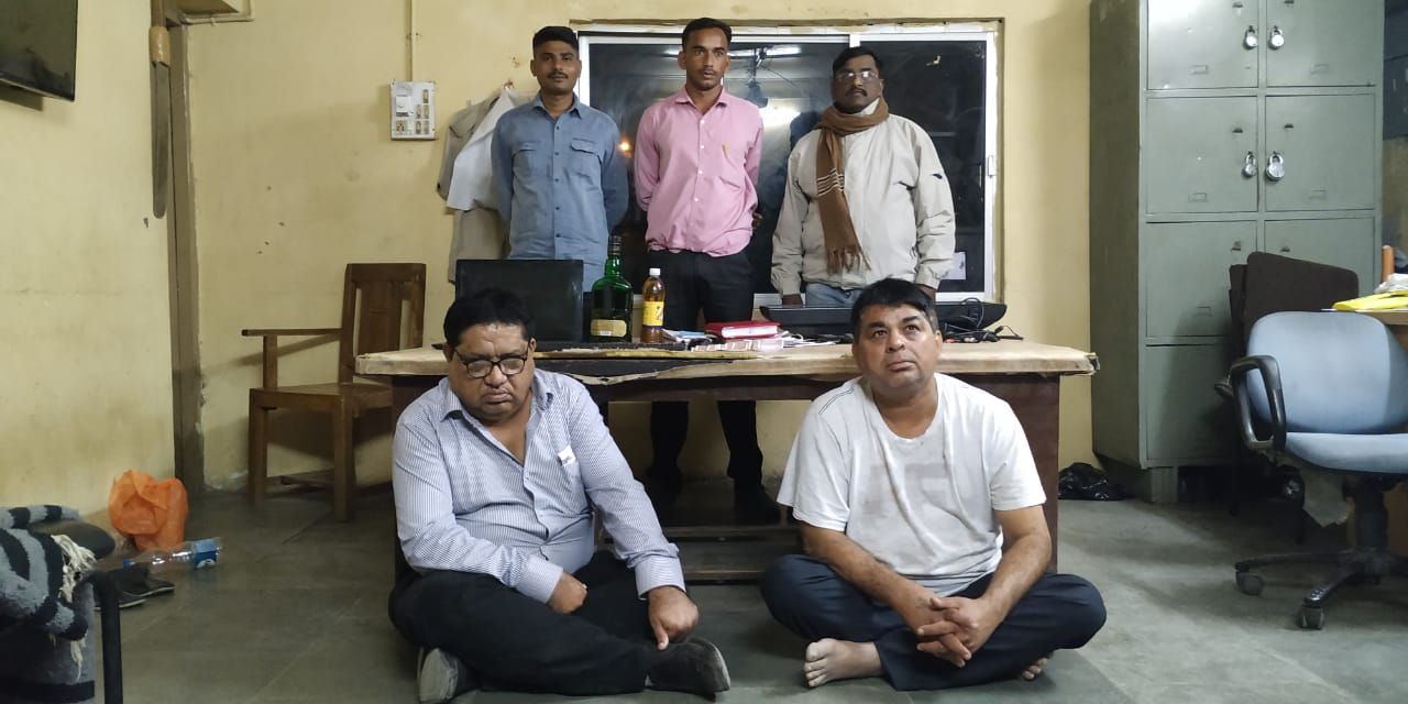 Vadodara Warasiya police caught two for cricket betting
