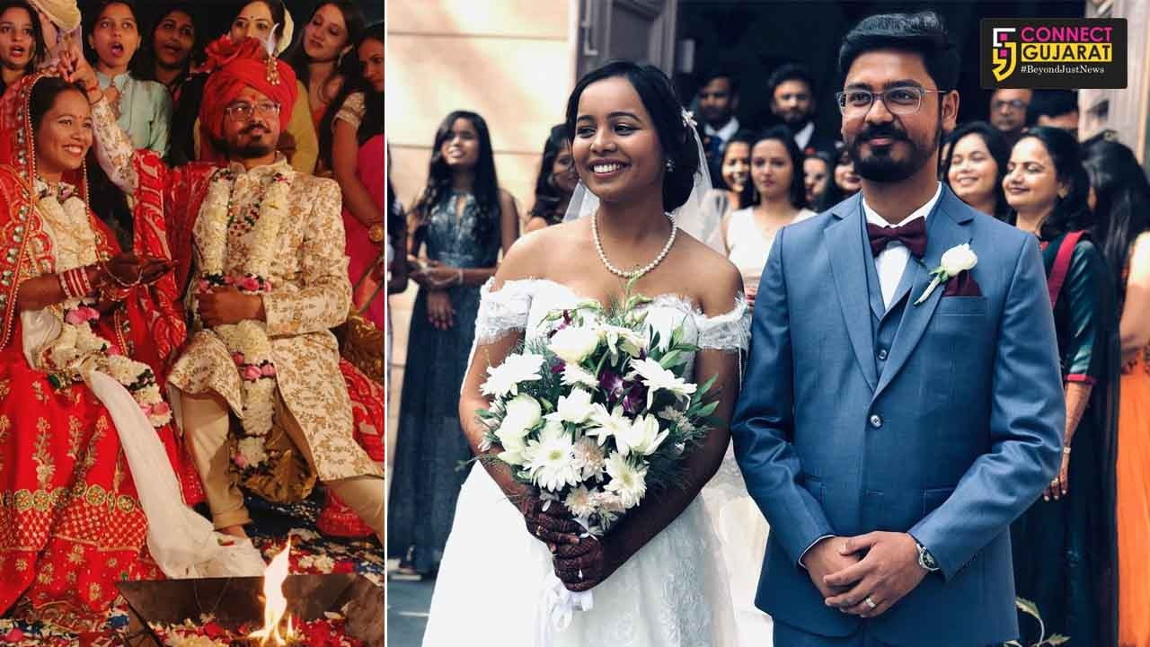 Muslim friend signed as witness for the wedding of Christian bride and Hindu groom