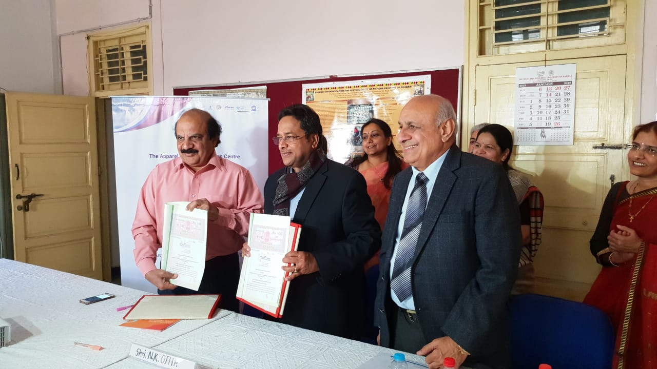 MSU signed MoU with ATDC to impart quality vocational skill training in the apparel sector