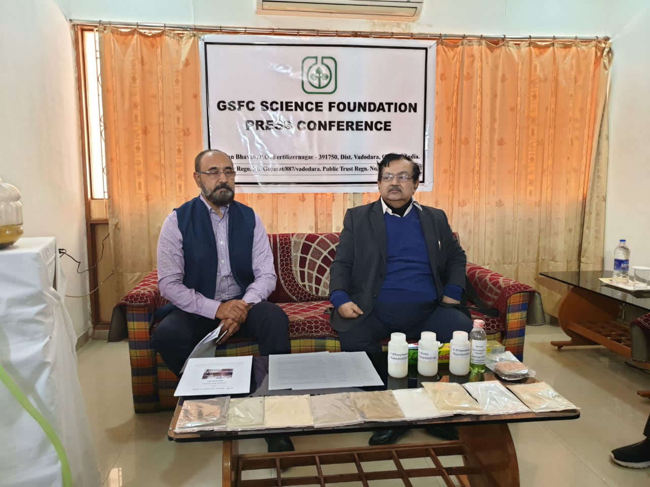 GSFC Science Foundation research projects in the field of water and agriculture