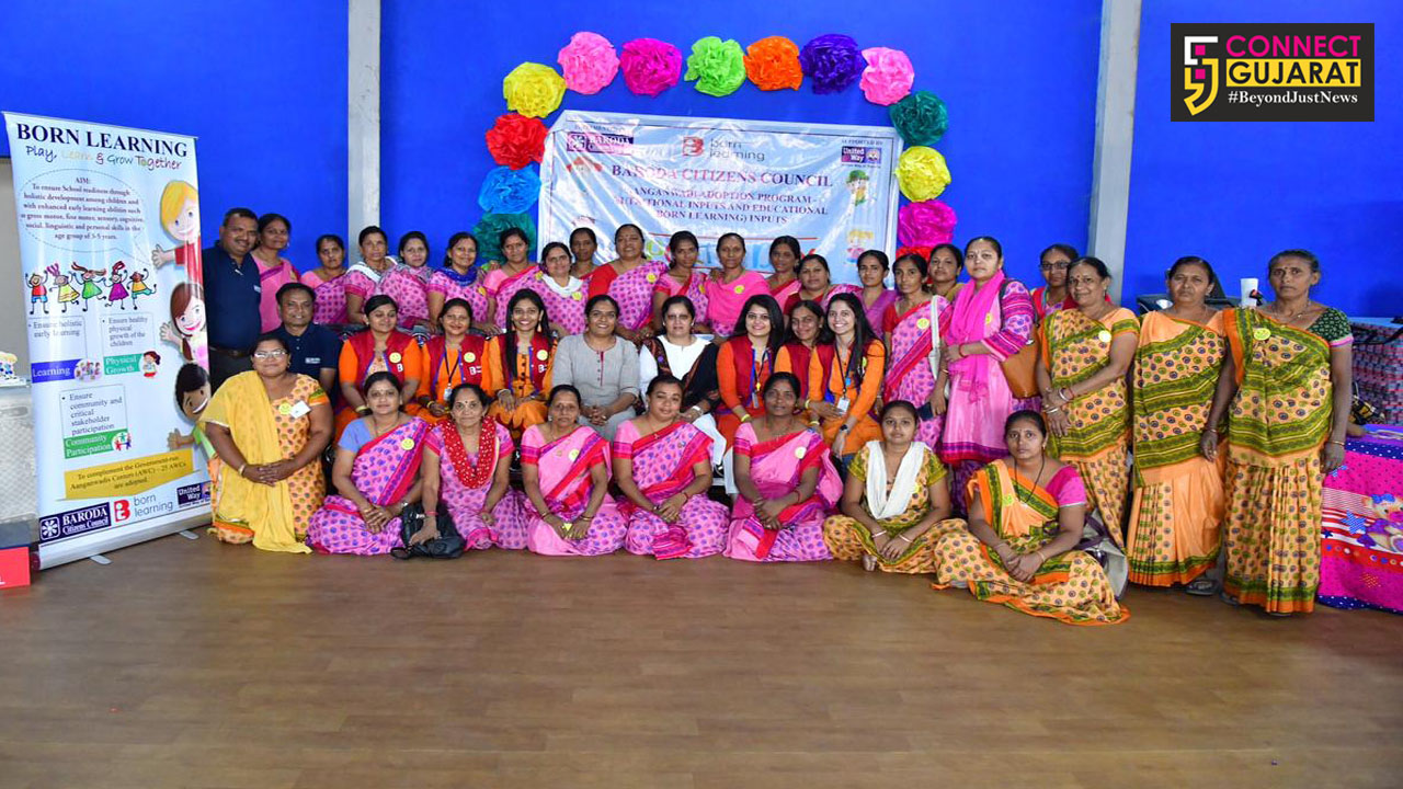 BCC organise sports day for little children of aanganwadis