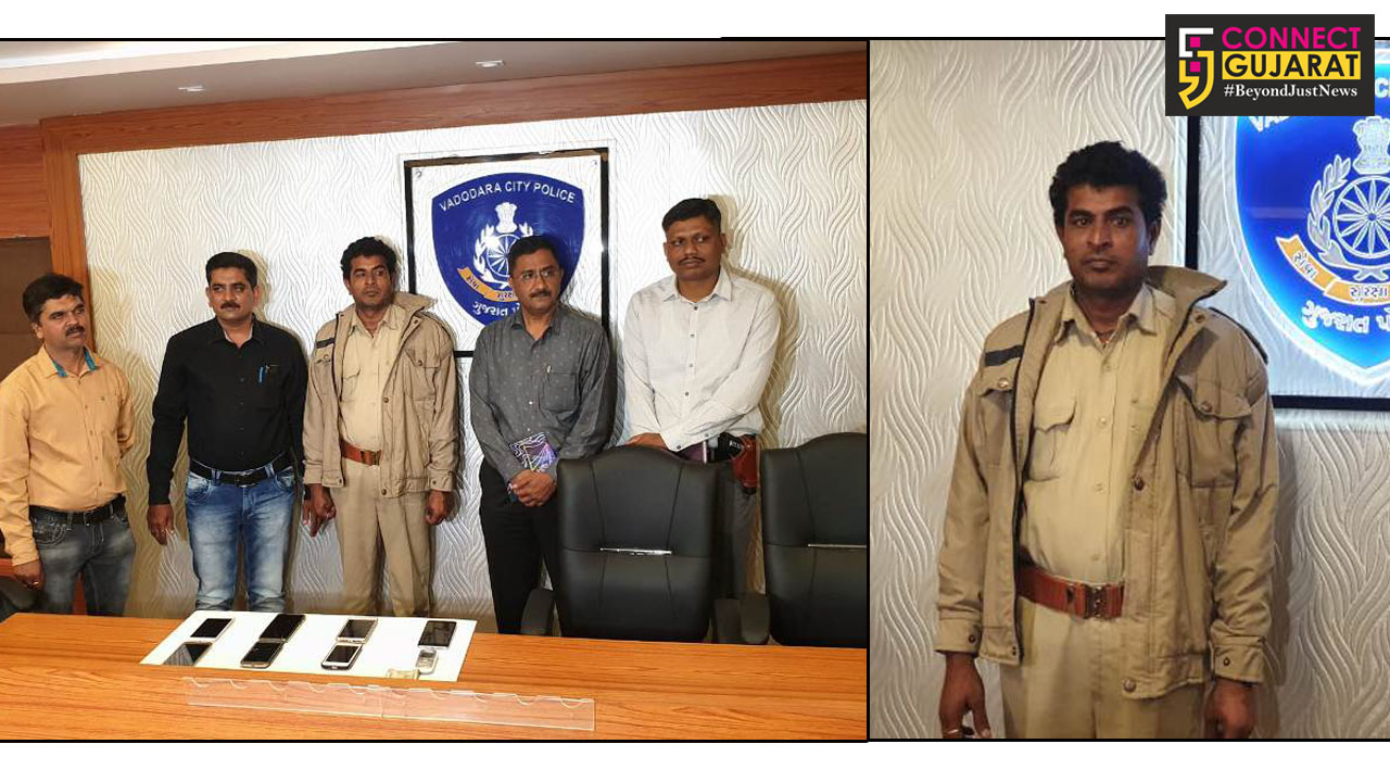 Suspended driver of Dahod ST depot caught by the police for stealing items of passengers