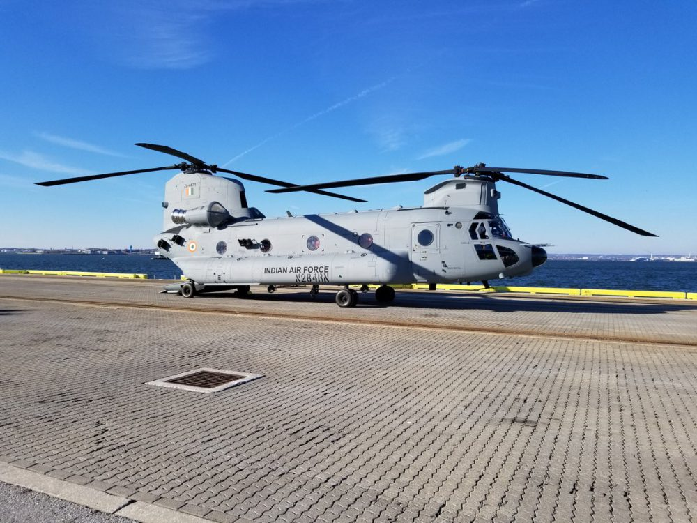 Indian Air Force inducts Chinook heavy-lift choppers today