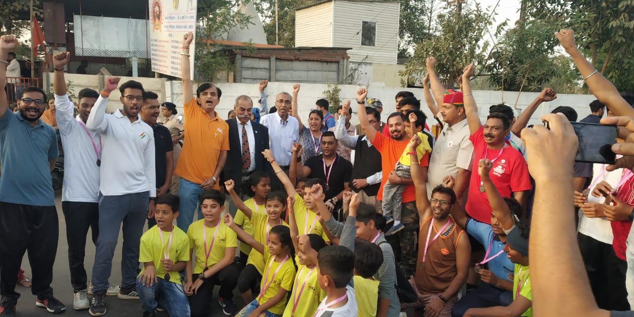 Vadodara organised ParamVeer run to remember the Indian Martyrs