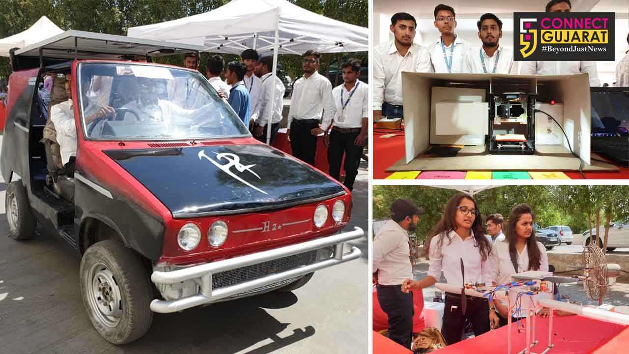 8th edition of TechExpo held at Parul university