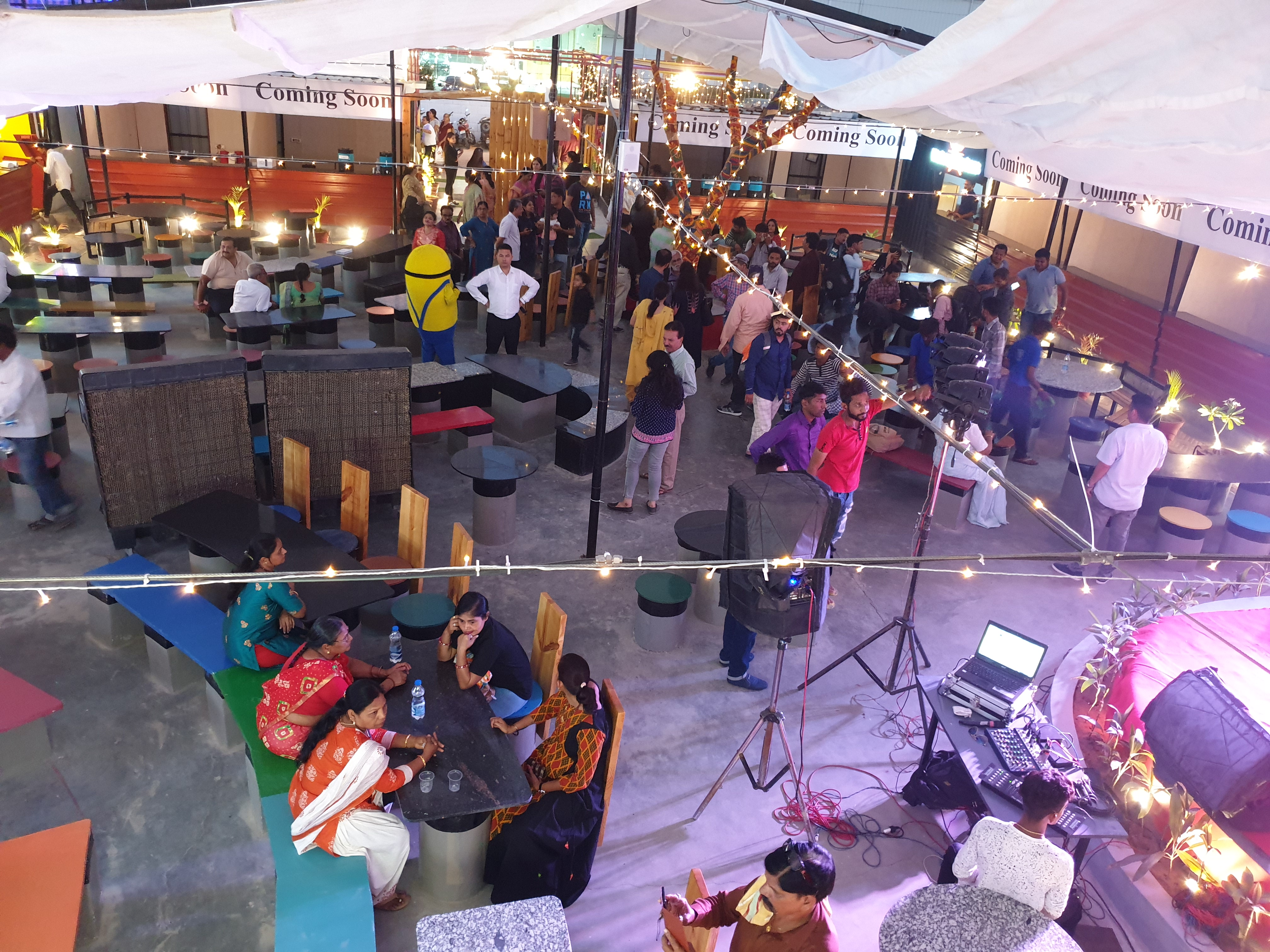 Grand Launch of Vadodara's Largest Food Court United Kitchens